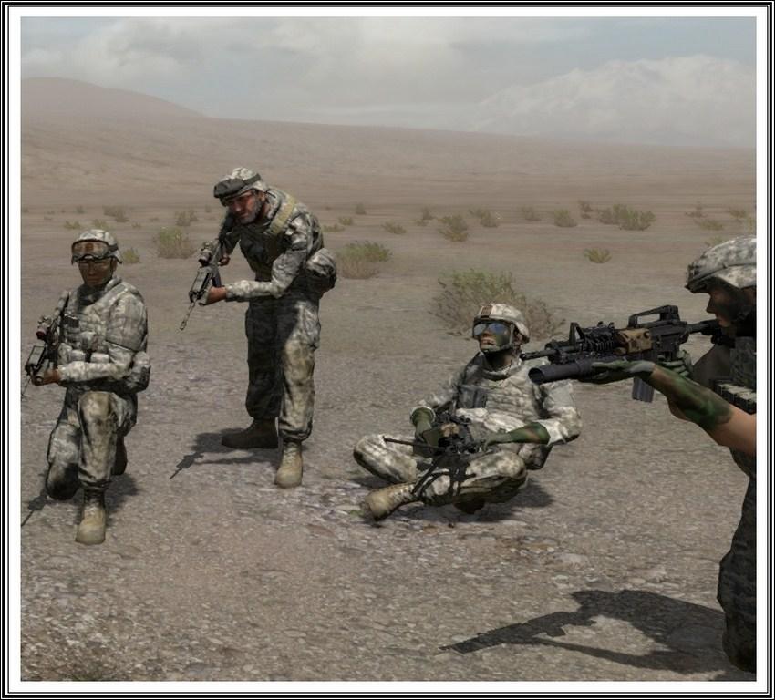 Bande de guerriers patibulaires : les LAL en action ! Arma01