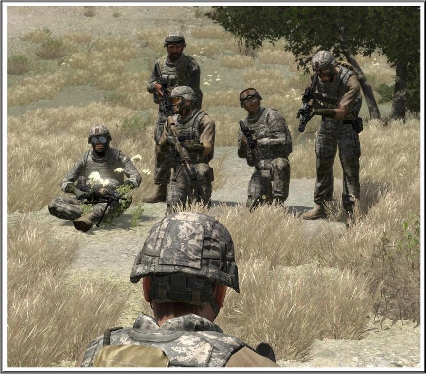 Bande de guerriers patibulaires : les LAL en action ! Arma05
