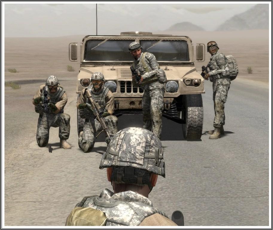 Bande de guerriers patibulaires : les LAL en action ! Arma09