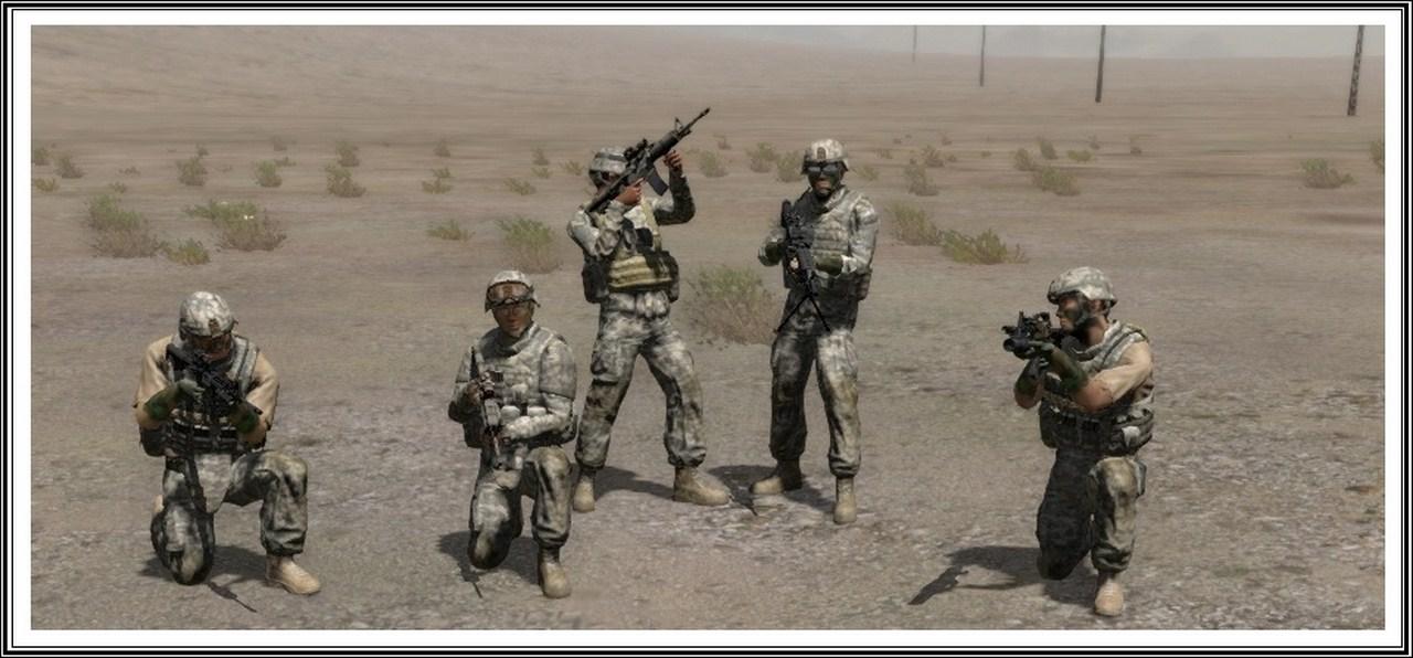 Bande de guerriers patibulaires : les LAL en action ! Arma10