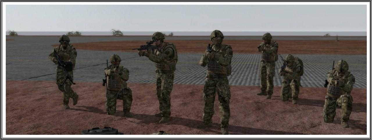 Bande de guerriers patibulaires : les LAL en action ! Arma12