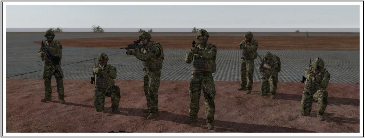 Bande de guerriers patibulaires : les LAL en action ! Arma13