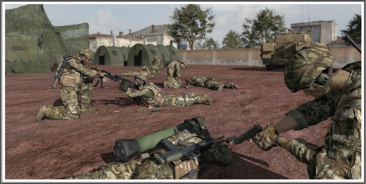 Bande de guerriers patibulaires : les LAL en action ! Arma15