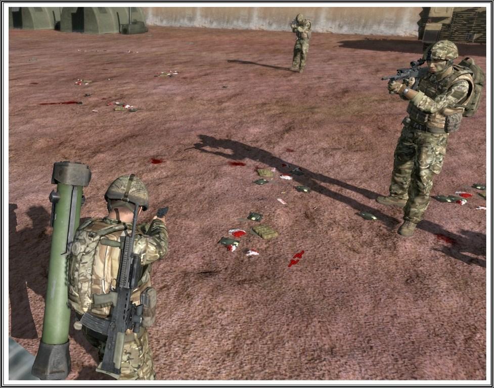 Bande de guerriers patibulaires : les LAL en action ! Arma16