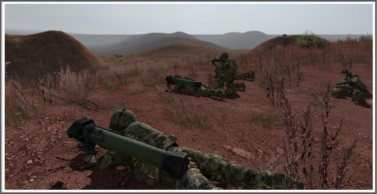 Bande de guerriers patibulaires : les LAL en action ! Arma17